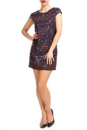 Платье Custo Barcelona. Цвет: фиолетовый