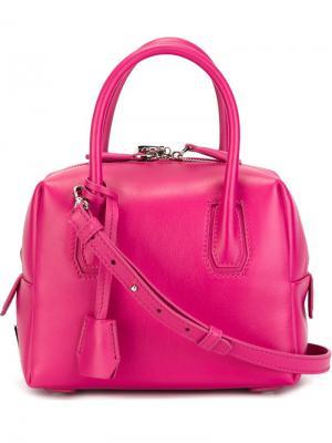 Маленькая сумка-тоут Milla MCM. Цвет: розовый и фиолетовый