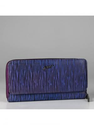 Кошелек Piero. Цвет: синий, фиолетовый
