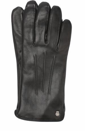 Кожаные перчатки Roeckl. Цвет: черный