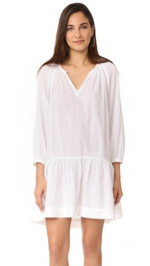 Платье Lyvia XIRENA. Цвет: белый