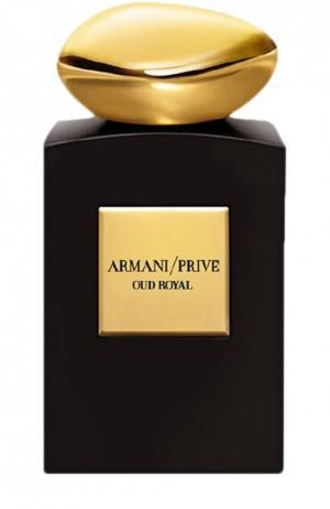 Парфюмерная вода Oud Royal Giorgio Armani. Цвет: бесцветный