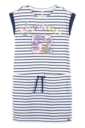 Платье Coccodrillo. Цвет: синий, белый