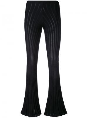 Расклешенные брюки Ribbel Alyx. Цвет: чёрный