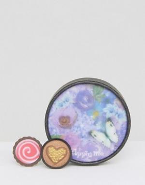 Anna Sui Набор для макияжа глаз и губ ограниченной серии. Цвет: мульти