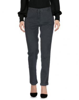 Повседневные брюки MONOCROM. Цвет: темно-зеленый