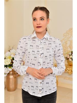 Рубашка Katerina Bleska&Tamara Savin. Цвет: черный, синий, белый