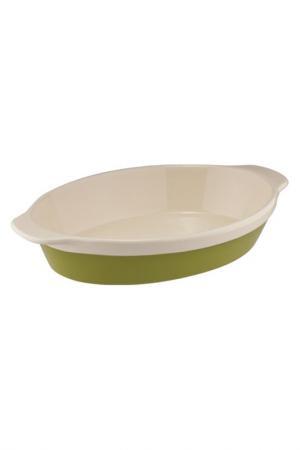 Овальная форма для выпечки Granchio. Цвет: салатовый, белый