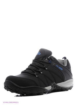 Ботинки Ascot. Цвет: черный, синий