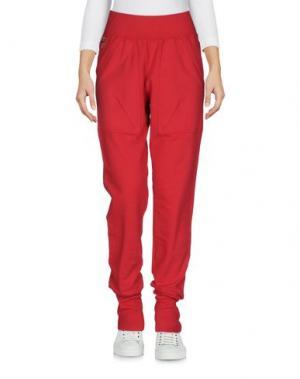 Повседневные брюки AERONAUTICA MILITARE. Цвет: красный