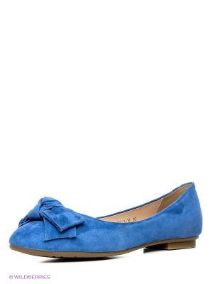 Балетки Eva Mayer. Цвет: синий