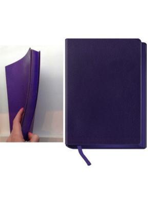 Ежедневник недатированный, кожзам,цветной рез, А5, фиолетовый, El Color, 288л Maestro de Tiempo. Цвет: фиолетовый