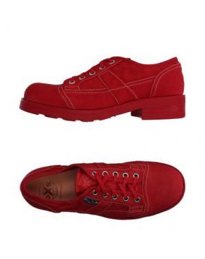 Обувь на шнурках O.X.S.. Цвет: красный