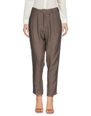 Повседневные брюки SOUVENIR. Цвет: хаки