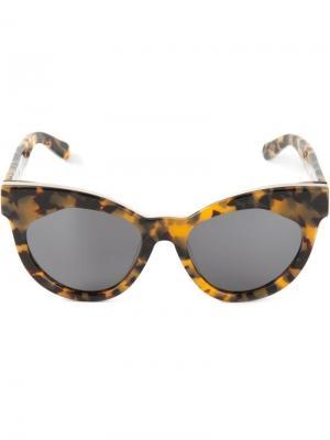 Солнцезащитные очки Starburst Karen Walker Eyewear. Цвет: многоцветный