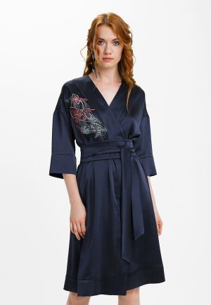 Платье Audrey Right. Цвет: синий
