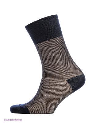 Носки ASKOMI. Цвет: темно-синий, темно-коричневый