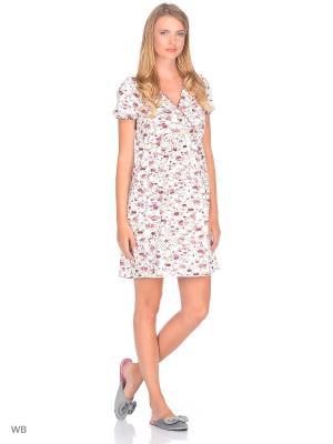 Ночная сорочка Nuova Vita. Цвет: бледно-розовый