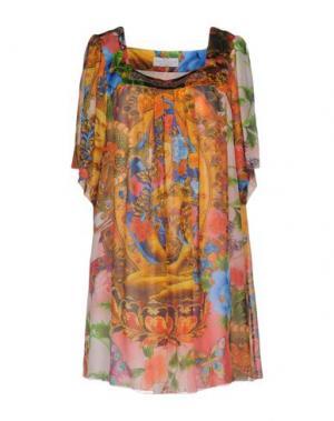 Короткое платье MANUEL LUCIANO. Цвет: розовый