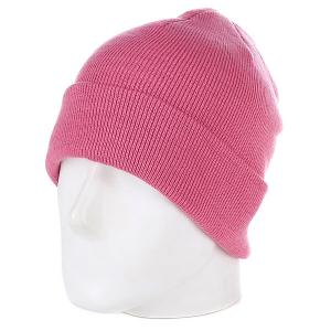 Шапка  Flap Beanie Pink Urban Classics. Цвет: розовый