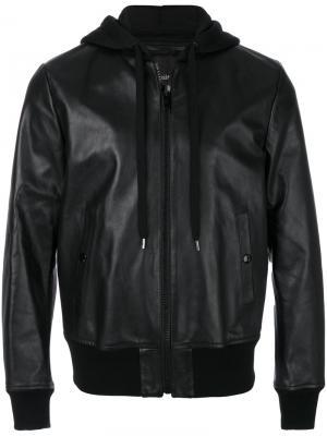 Куртка с капюшоном Marc Jacobs. Цвет: чёрный