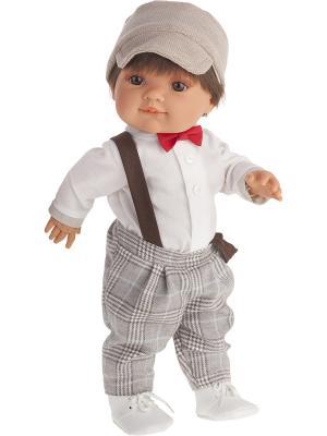 Кукла Фернандо, 38см Antonio Juan. Цвет: светло-бежевый, светло-серый