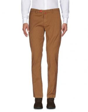 Повседневные брюки BARONIO. Цвет: коричневый