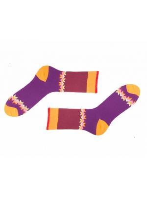 Носки Sammy Icon. Цвет: бордовый, сиреневый, желтый