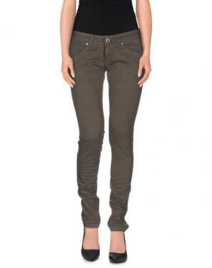 Повседневные брюки SWELL 65. Цвет: свинцово-серый