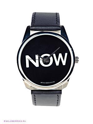 Часы Mitya Veselkov. Цвет: черный, белый