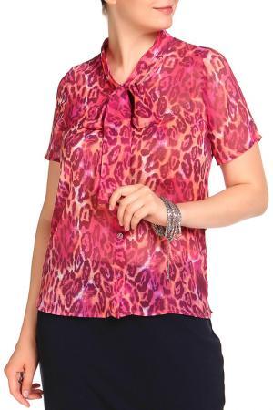 Блуза HELENA VERA. Цвет: ягодный