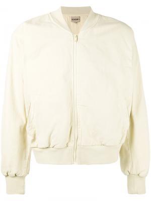 Куртка-бомбер  Season 4 Yeezy. Цвет: телесный