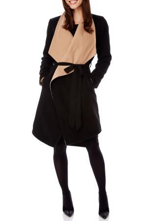 Пальто Uttam Boutique. Цвет: black