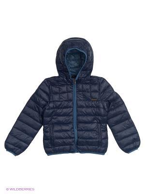 Куртка Sisley Young. Цвет: синий