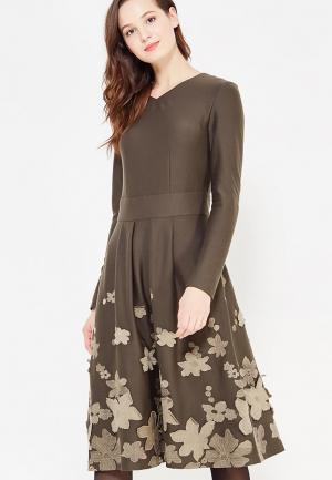 Платье Demurya Collection. Цвет: зеленый