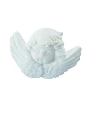 Ароматические украшения Голова ангелочка, аромат Рисовая Пудра Mathilde M. Цвет: белый