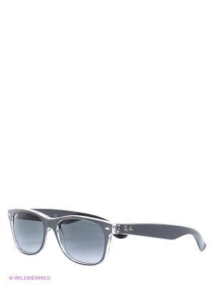Очки солнцезащитные NEW WAYFARER Ray Ban. Цвет: серый