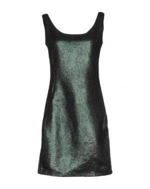 Короткое платье JIJIL. Цвет: темно-зеленый