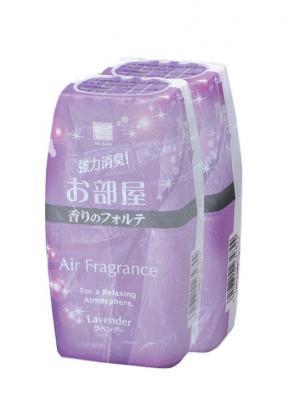 Air Fragrance фильтр посторонних запахов в комнате с ароматом лаванды 2 шт. Kokubo. Цвет: сиреневый