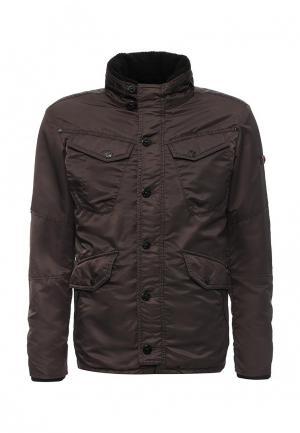 Куртка утепленная Strellson. Цвет: коричневый