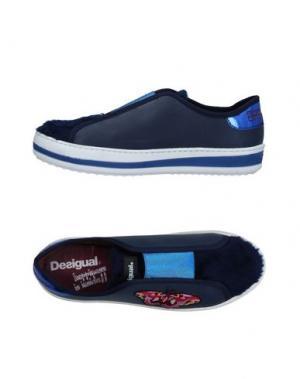 Низкие кеды и кроссовки DESIGUAL. Цвет: темно-синий