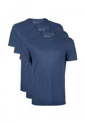 Комплект футболок 3 шт. Topman. Цвет: синий