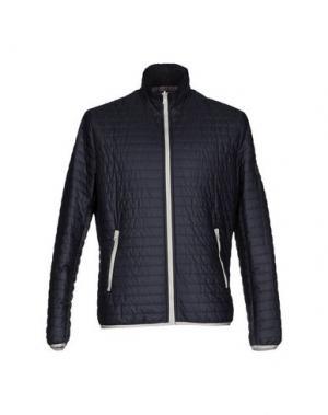 Куртка ROBERTO PEPE. Цвет: темно-синий