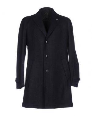 Пальто SARTORIA LATORRE. Цвет: темно-синий