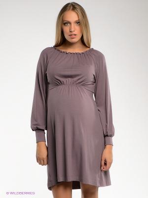 Платье UNIOSTAR. Цвет: лиловый
