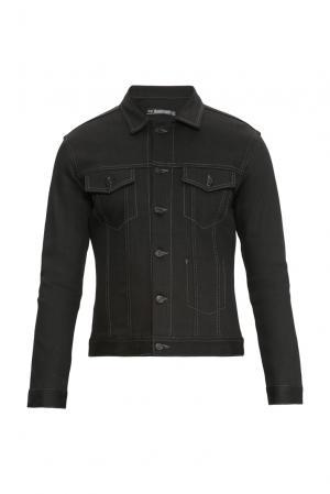 Джинсовая куртка 159306 Izreel Denim. Цвет: черный