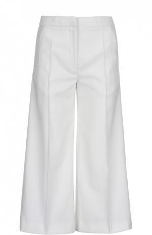 Широкие брюки с лампасами и врезными карманами Racil. Цвет: бежевый