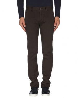 Повседневные брюки C.P. COMPANY. Цвет: темно-коричневый