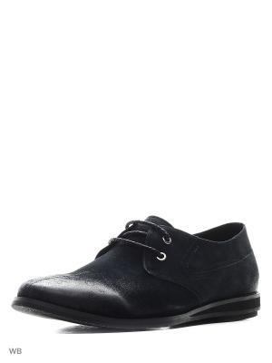 Туфли CARLO BELLINI. Цвет: темно-синий