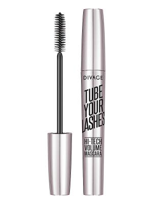 Тушь для ресниц mascara tube your lashes, тон 04 DIVAGE. Цвет: синий